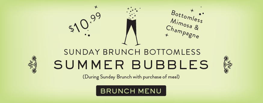 damico and sons naples promotions Summer Bottomless Brunch Bubbles