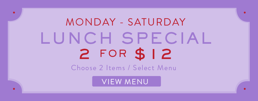 damico and sons naples promotions 2 for 12 Lunch menu