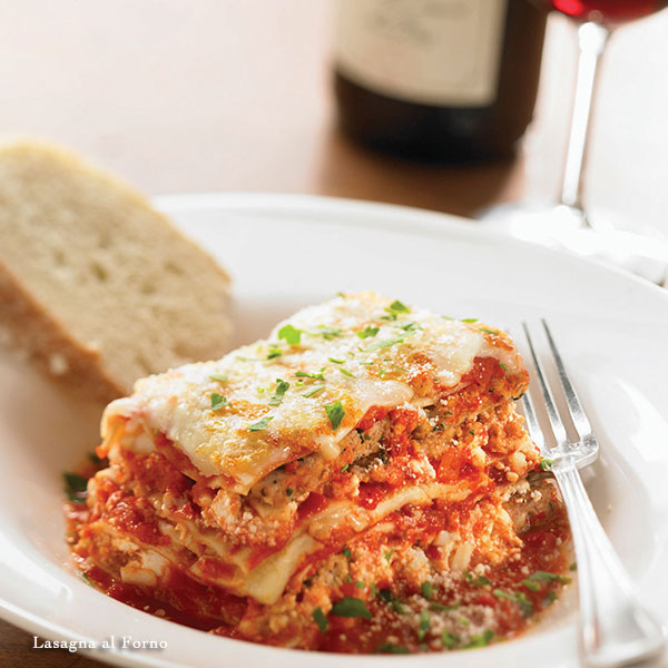 ds naples menu lasagna al Forno