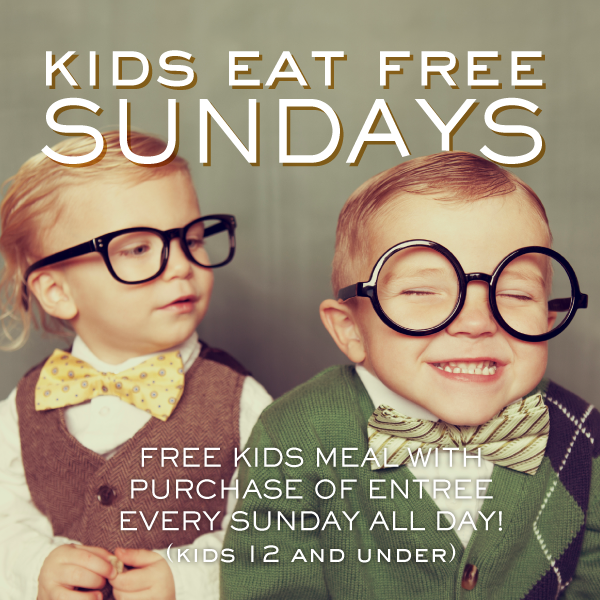 Naples Damico and sons promotions kids eat free